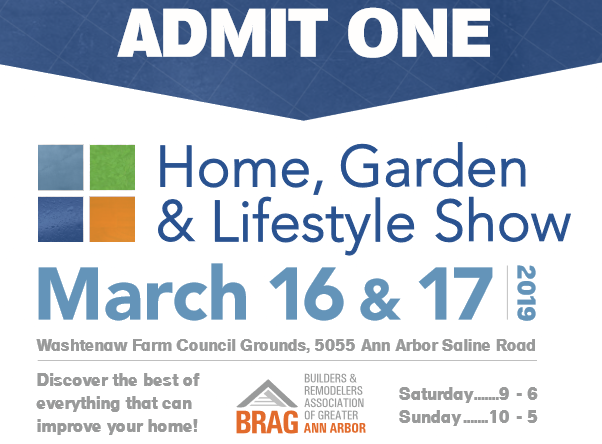 home show March 16th  17th